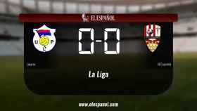 Reparto de puntos entre el Langreo y el Logroñés, el marcador final fue 0-0
