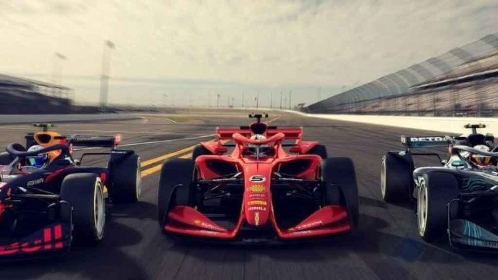 La Fórmula 1 desvela como serán los coches para 2021