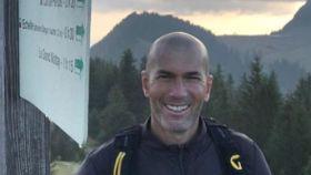 Zidane en el Pico de los Memises
