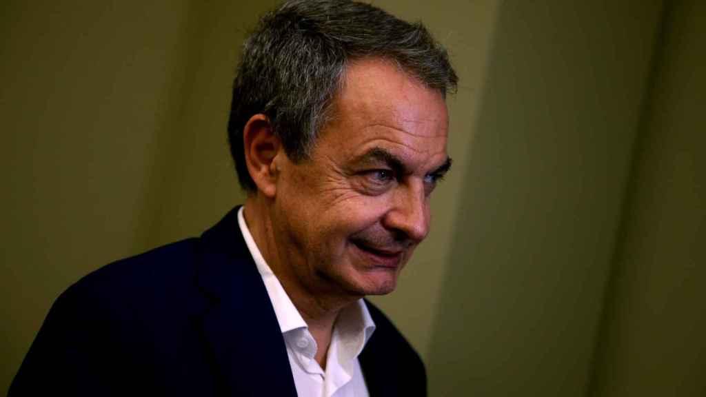 José Luis Rodríguez Zapatero en Sao Paulo, Brasil.