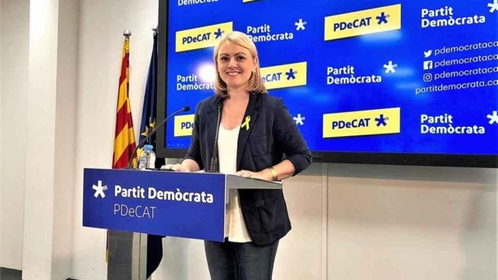 Maria Senserrich fue portavoz del PDeCAT hasta septiembre de 2018.