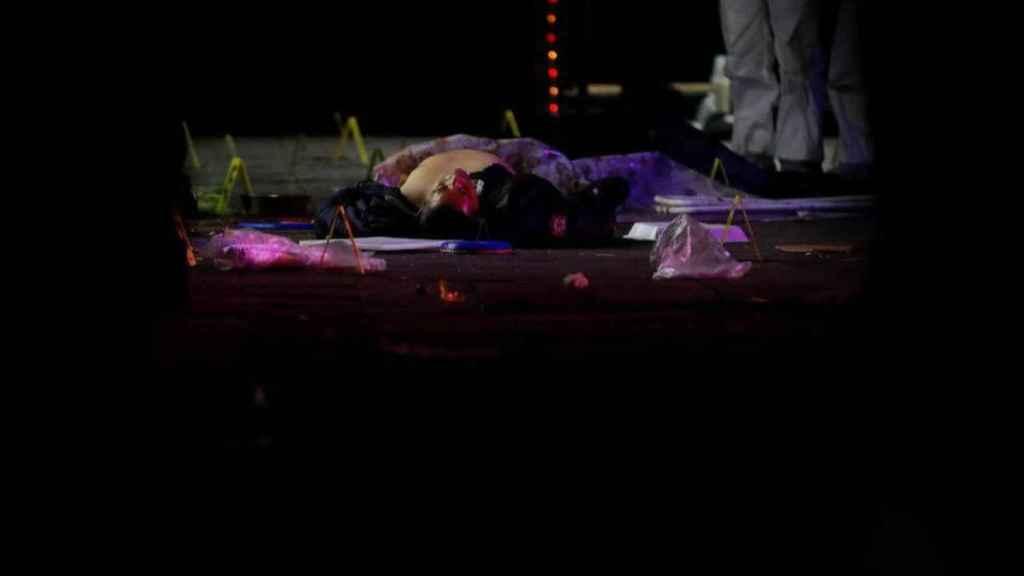 Una de las personas asesinadas en la plaza de Garibaldi, en México DF.