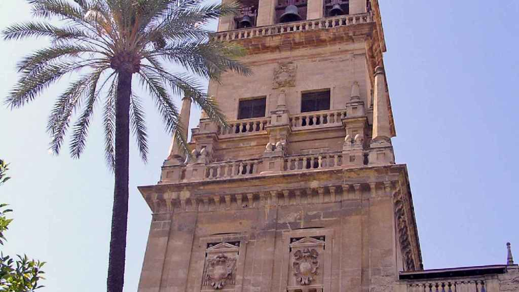 Campanario de la Mezquita de Córdoba.