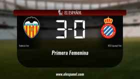 El Valencia Femenino ganó en casa al Espanyol