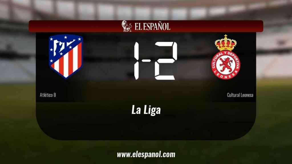 La Cultural Leonesa ganó en casa del Atlético B