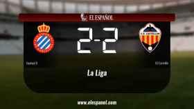 Empate (2-2) entre el Espanyol B y el Castellón