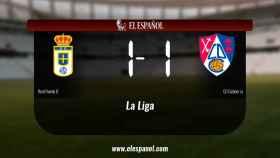 El Real Oviedo B y el Calahorra empataron a uno