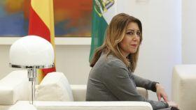 La presidenta de Andalucía, Susana Díaz.