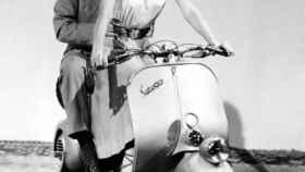 Audrey Hepburn en 'Vacaciones en Roma'.