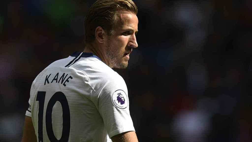 Harry Kane con el Tottenham.