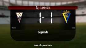El Albacete y el Cádiz se repartieron los puntos tras un empate a uno