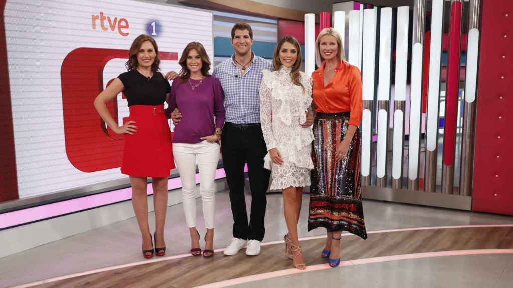El nuevo equipo de 'Corazón TVE'.