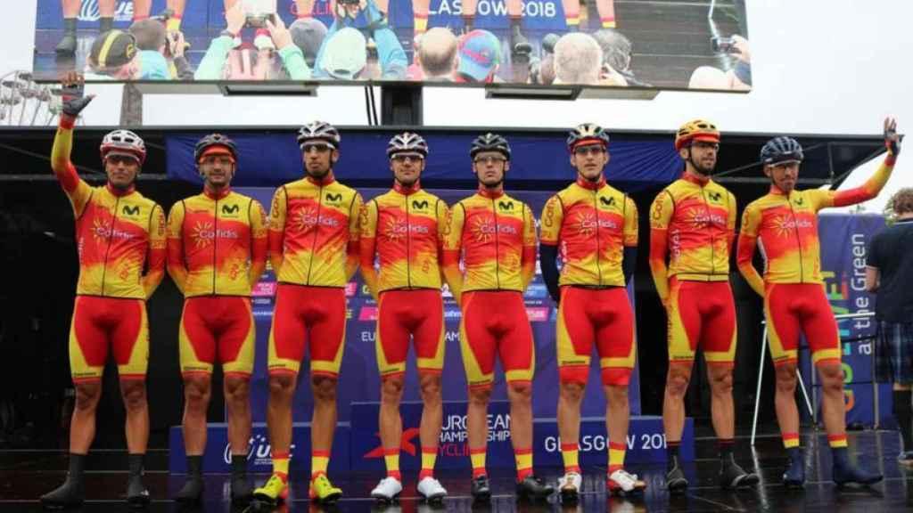 Selección española de ciclismo. Foto: rfec.com