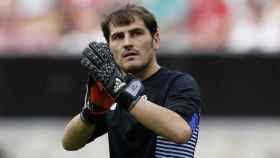 Iker Casillas, jugador del Oporto.