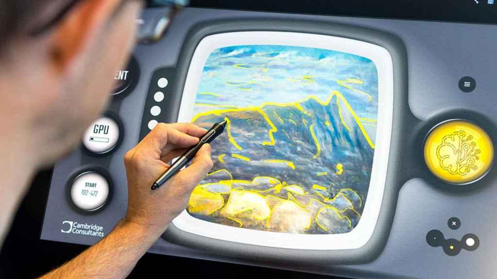 Vincent es el sistema de inteligencia artificial que es capaz de crear arte a partir de un boceto.