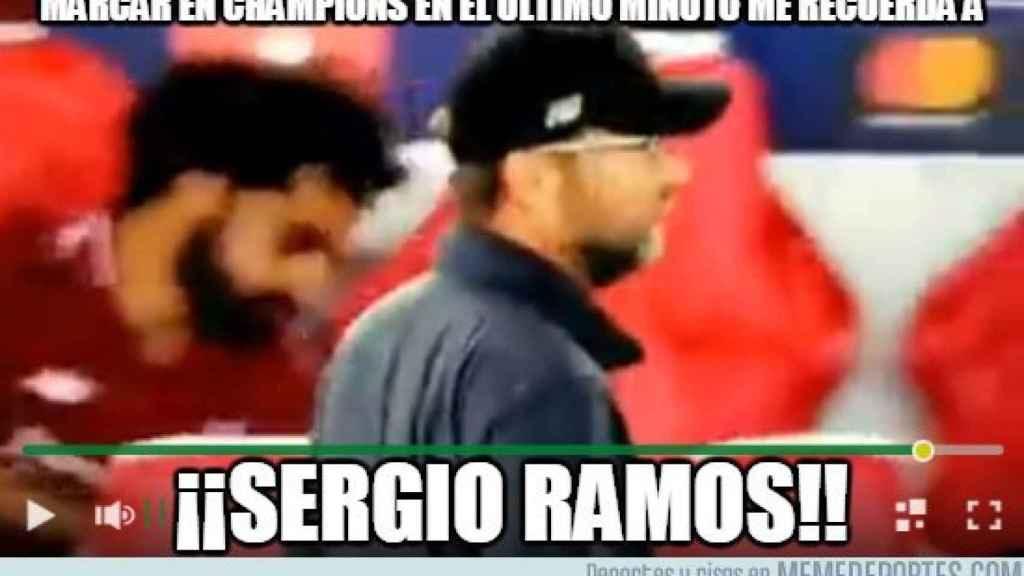 Los mejores memes del Real Madrid - Roma