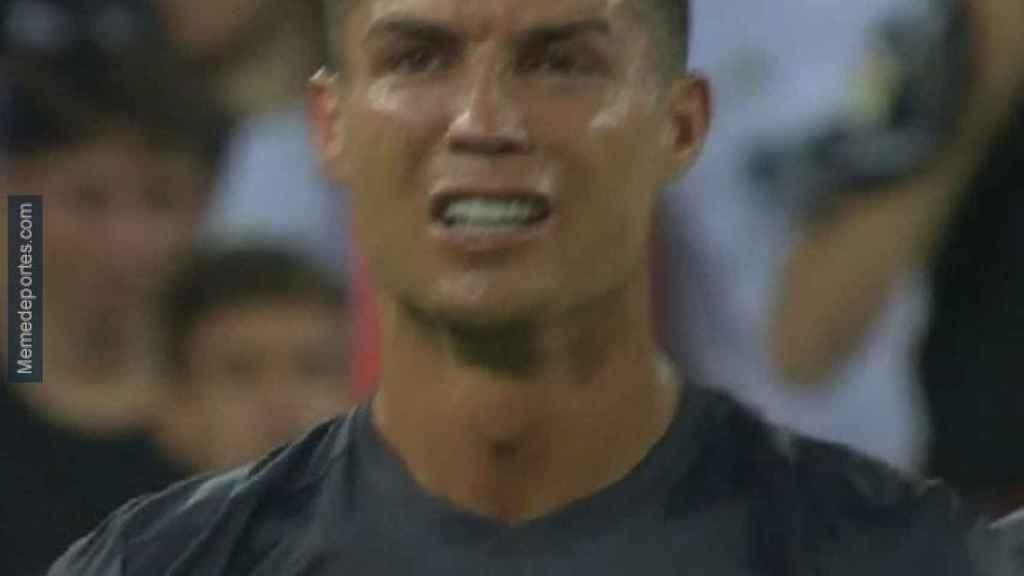 Los mejores memes de la expulsión de Cristiano en el Valencia - Juventus