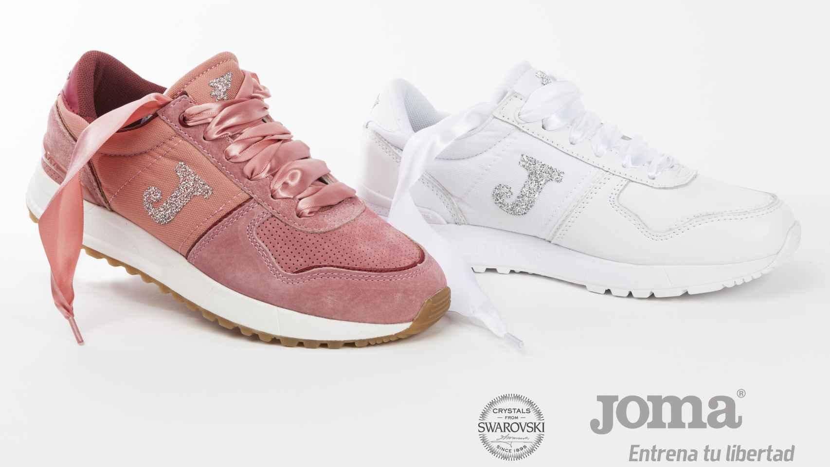 Las 'sneakers' Joma Swarovsky.