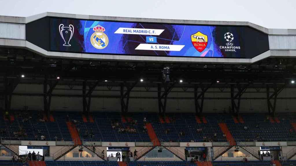 Estadio Santiago Bernabéu - Real Madrid vs AS Roma