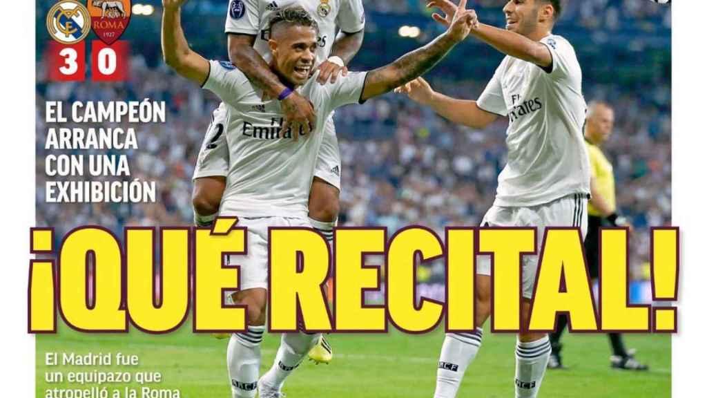 Portada MARCA (20/09/2018)