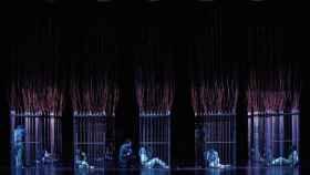 Una de las escenas de Fausto, en el Teatro Real, con Piotr Beczala y Marina Rebeka.