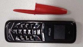 Uno de los micromóviles intervenidos por los funcionarios en la cárcel de Tenerife II.