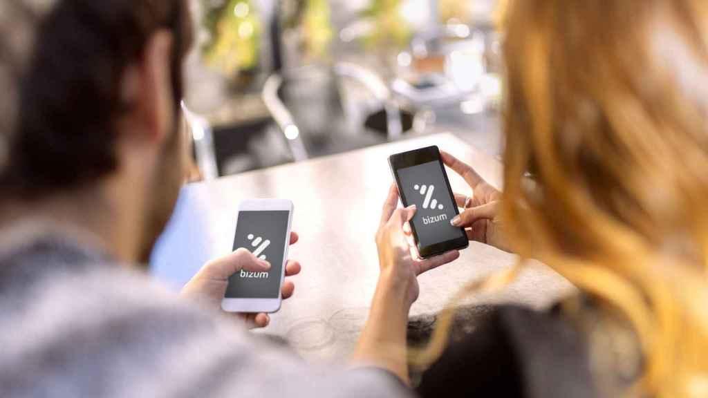 Aplicación de Bizum en un móvil, en una imagen de archivo.