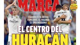 La portada del diario marca (21/09/2018)