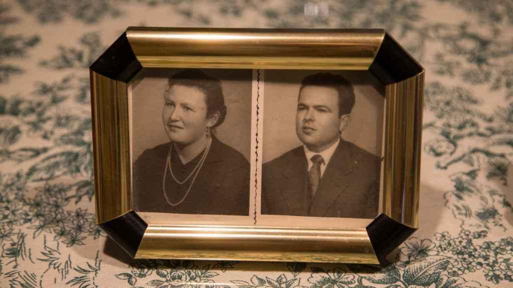 Retrato de Enriqueta De La Carrera quien falleció con 57 años después de varios infartos.