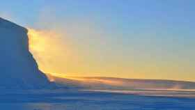 iceberg hielo antartida