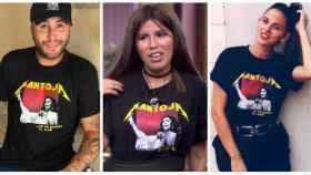kiko Rivera, Isa Pantoja e Irene Rosales en montaje JALEOS.