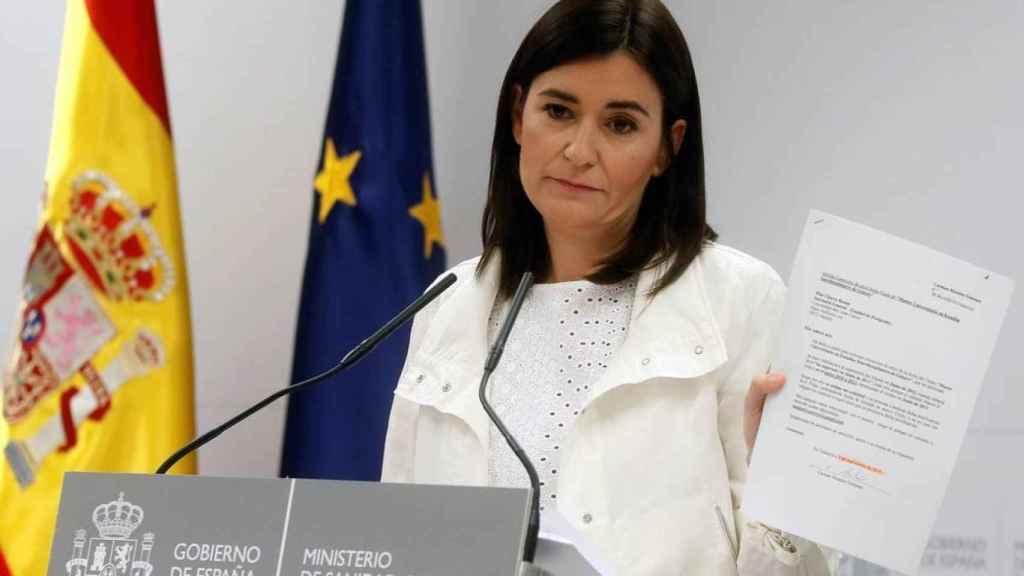 La exministra de Sanidad, Carmen Montón.