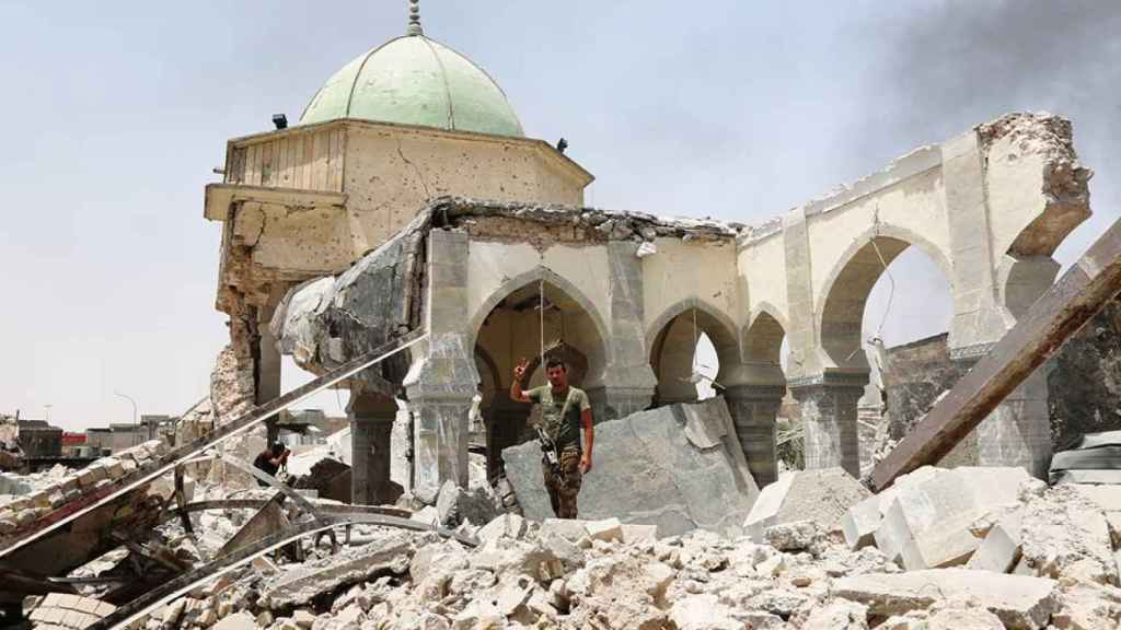 La sinagoga de Mosul.