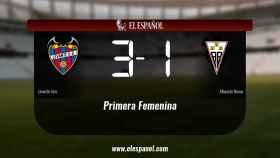 Victoria 3-1 del Levante frente al Fundación Albacete