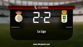 Empate (2-2) entre la Real Unión de Irún y el Real Oviedo B