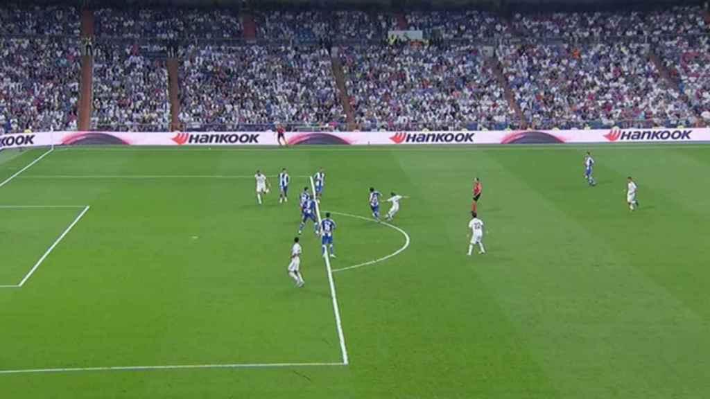 Gol legal de Marco Asensio