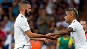 Mariano Díaz sustituye a Benzema