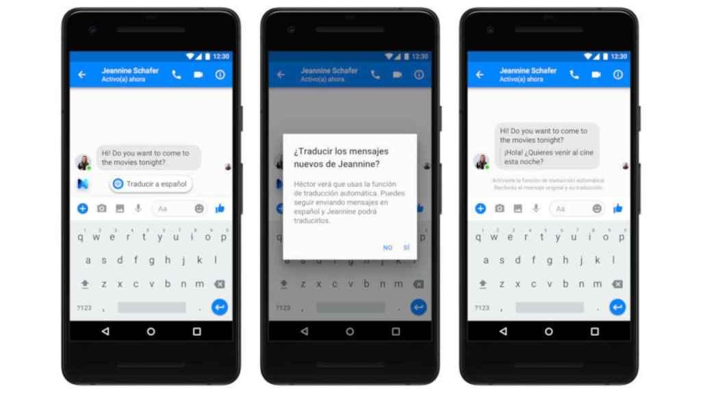 facebook messenger traductor 1