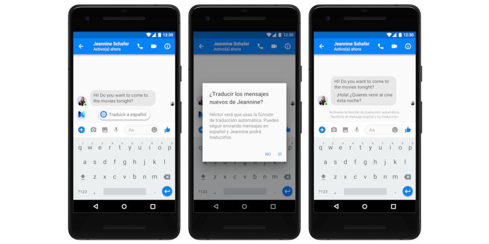 facebook messenger traductor 2