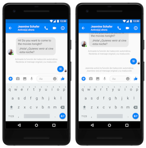 facebook messenger traductor 3