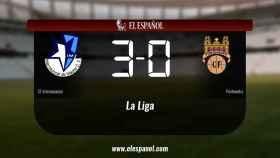 Los tres puntos se quedaron en casa: Internacional 3-0 Pontevedra