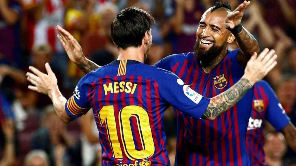 Partido del FC Barcelona en La Liga, en una imagen de archivo.