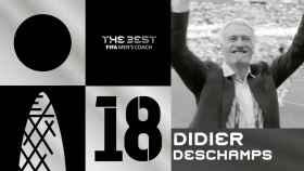 Didier Deschamps, Premio The Best 2018