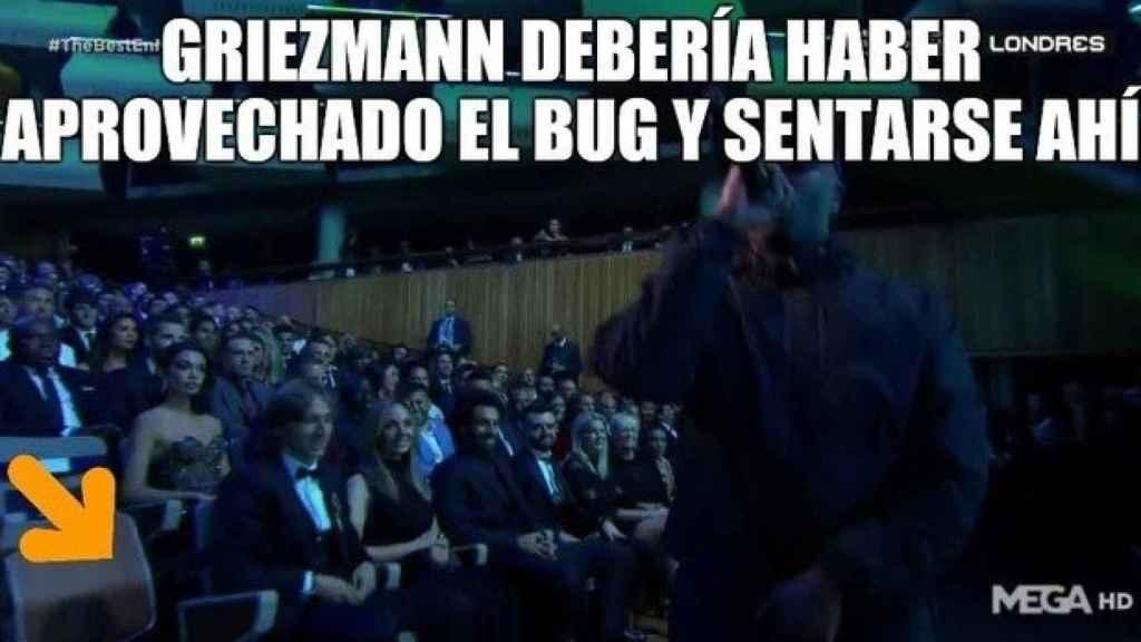 Los mejores memes de la gala The Best