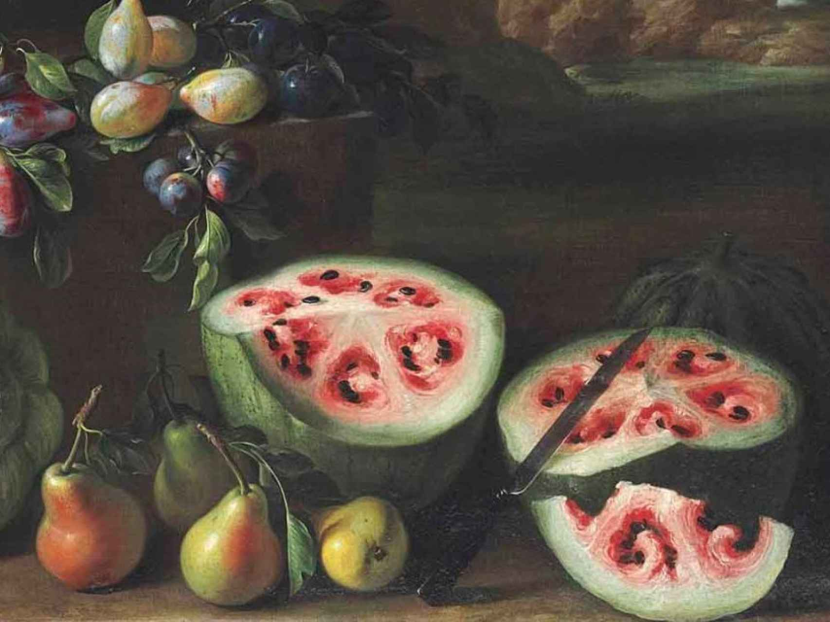 Así eran las frutas antes de los transgénicos.