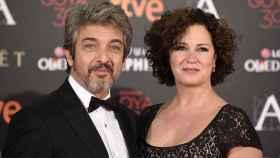 Ricardo Darín y su mujer Florencia.