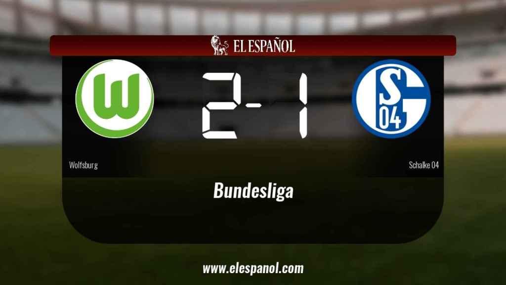 Los tres puntos se quedaron en casa: Wolfsburg 2-1 Schalke 04