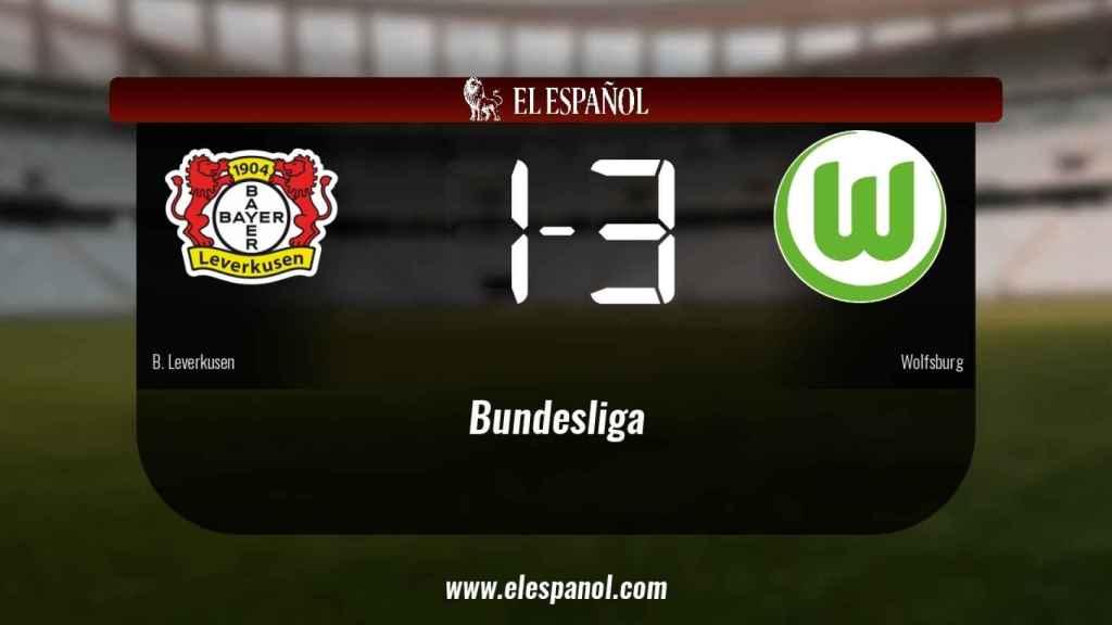 El Bayern Leverkusen 1-3 Wolfsburg