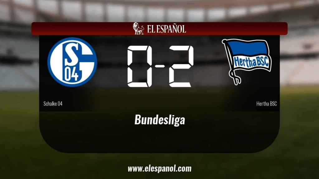 El Schalke 04 cae derrotado ante el Hertha BSC por 0-2