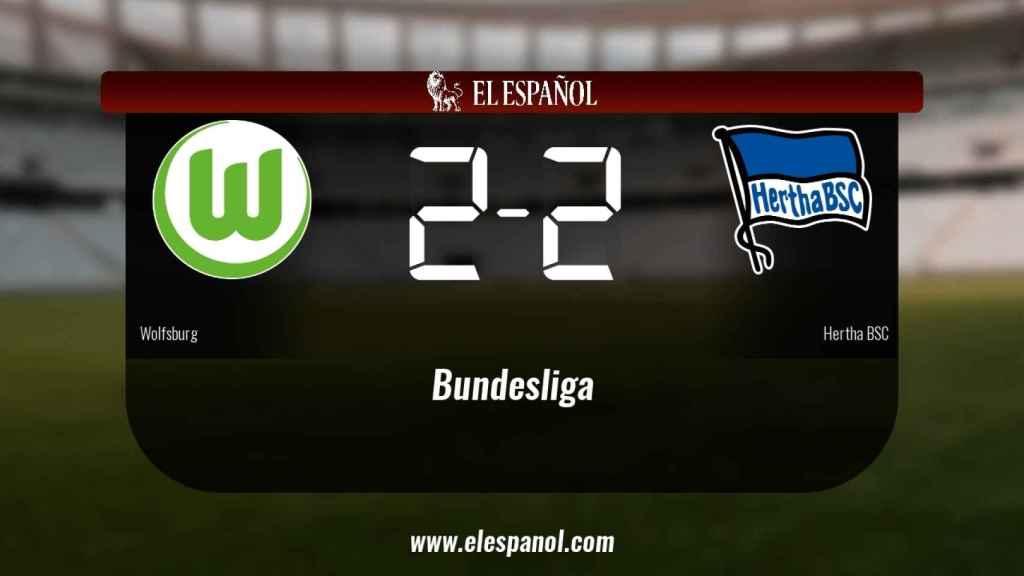 Empate entre Wolfsburg y Hertha BSC